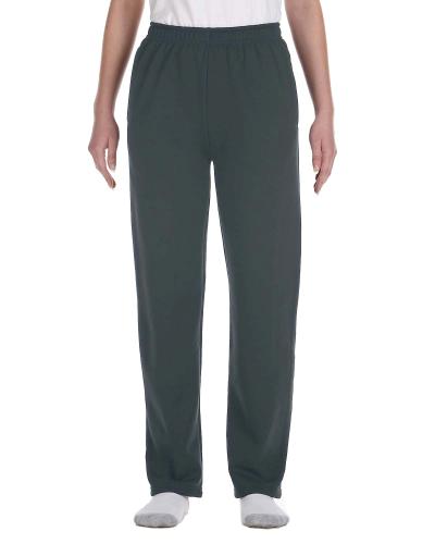 Youth 8 oz. Open-Bottom Fleece Sweatpants