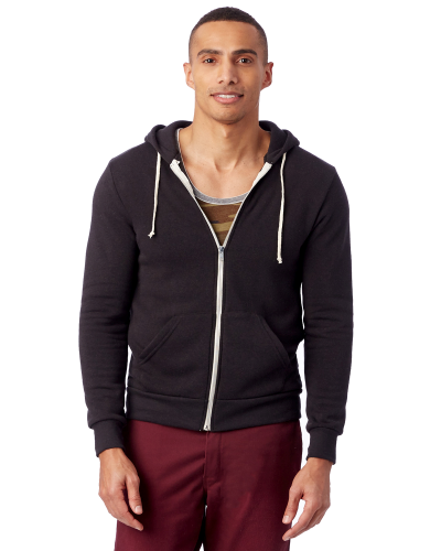 Men's Rocky Eco-Fleece Solid Zip Hoodie