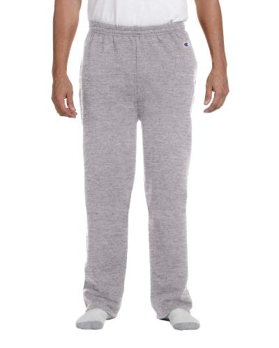 Adult 9 oz. Double Dry Eco Open-Bottom Fleece Pant with Pockets