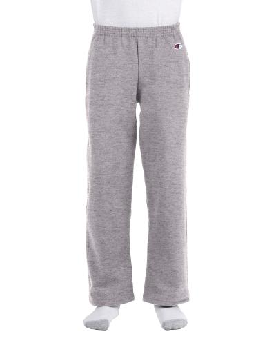Youth 9 oz. Double Dry Eco Open-Bottom Fleece Pant