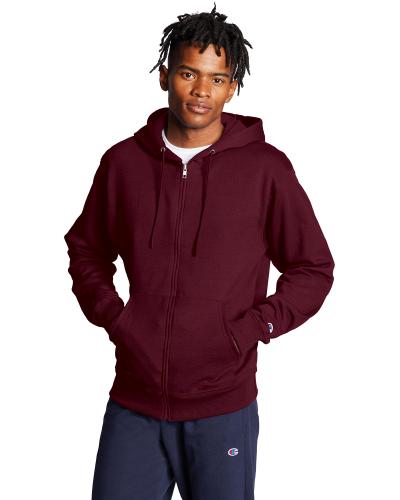 Adult 9 oz. Double Dry Eco Full-Zip Hood