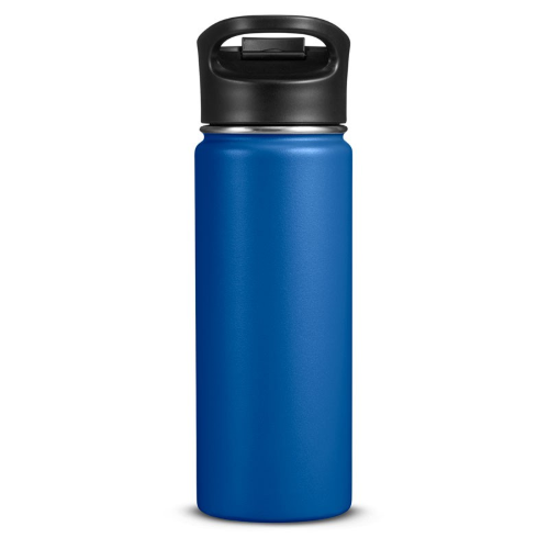 18 Fl. Oz. Double-wall Vacuum Bottle With Sip-thru Top