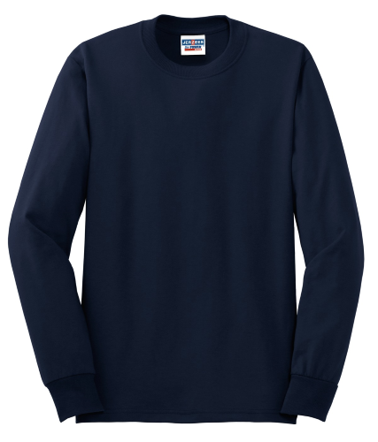 Heavyweight Blend 50/50 Cotton/Poly Long Sleeve T-Shirt