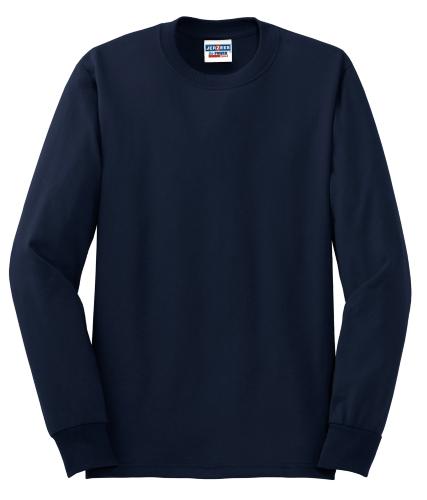Heavyweight Blend 50/50 Cotton/Poly Long Sleeve T-Shirt
