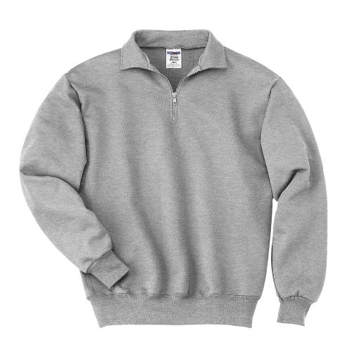SUPER SWEATS 1/4-Zip Sweatshirt with Cadet Collar