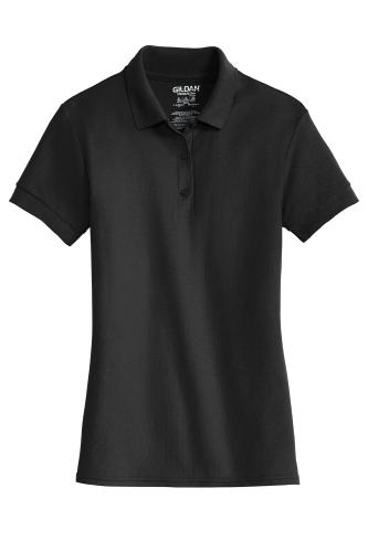 Ladies 6.5-Ounce 100% Double Pique Cotton Sport Shirt