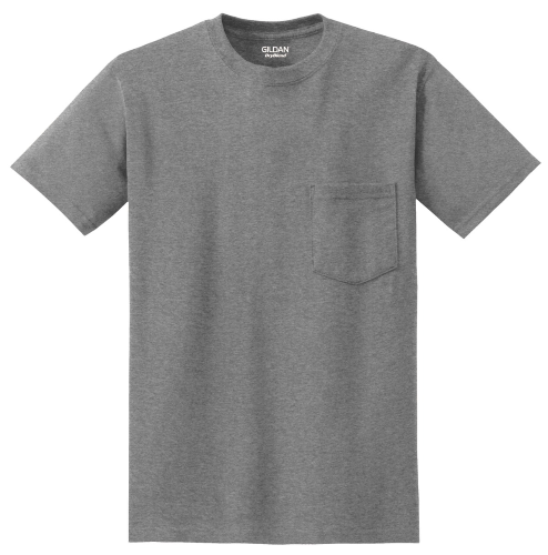 DryBlend 50/50 Poly Pocket T-Shirt