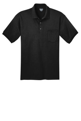 DryBlend 5.6-Ounce Jersey Knit Sport Shirt with Pocket