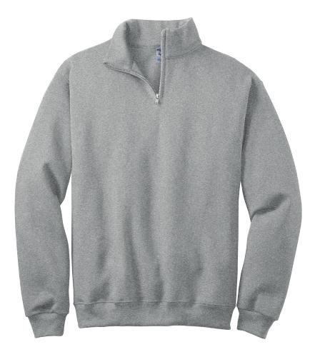 1/4-Zip Cadet Collar Sweatshirt