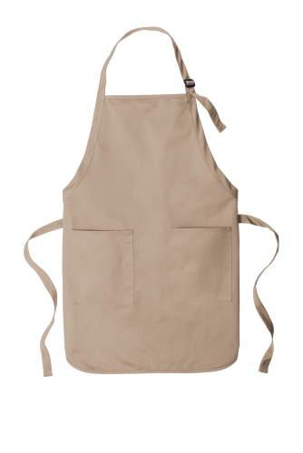 Full-Length Two-Pocket Bib Apron