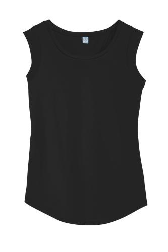Alternative Cap Sleeve Satin Jersey Crew T-Shirt