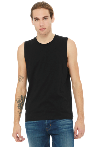 BELLA+CANVAS Unisex Jersey Muscle Tank