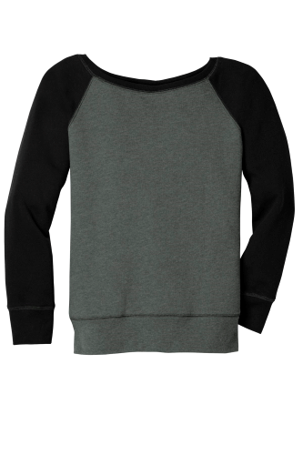 Women's Sponge Fleece Wide-Neck Sweatshirt