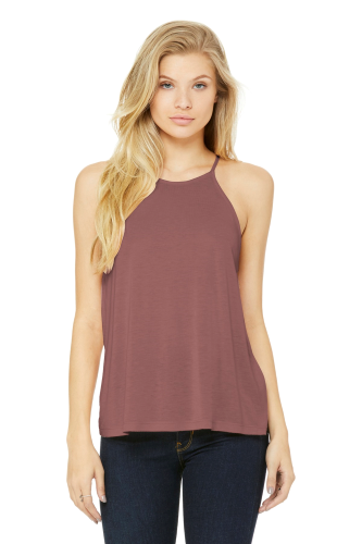 Women's Flowy High-Neck Tank