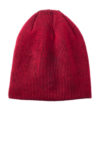 Rib Knit Slouch Beanie