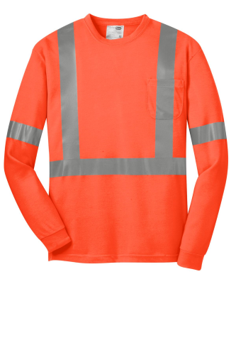 ANSI 107 Class 2 Long Sleeve Safety T-Shirt