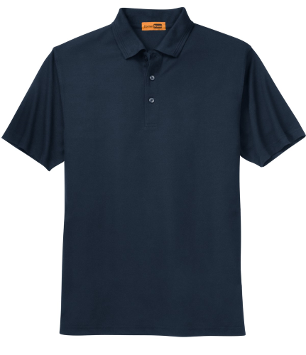 Industrial Pocketless Pique Polo
