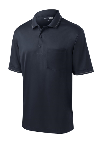 Select Snag-Proof Tipped Pocket Polo