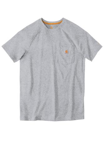 Carhartt Force Cotton Delmont Short Sleeve T-Shirt