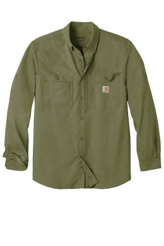Carhartt Force Ridgefield Solid Long Sleeve Shirt