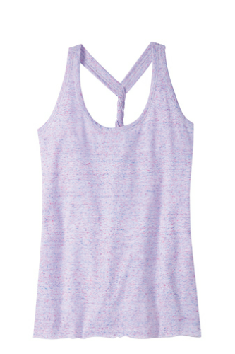 District Made Ladies Cosmic Twist Back Tank