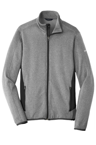 Eddie Bauer Full-Zip Heather Stretch Fleece Jacket
