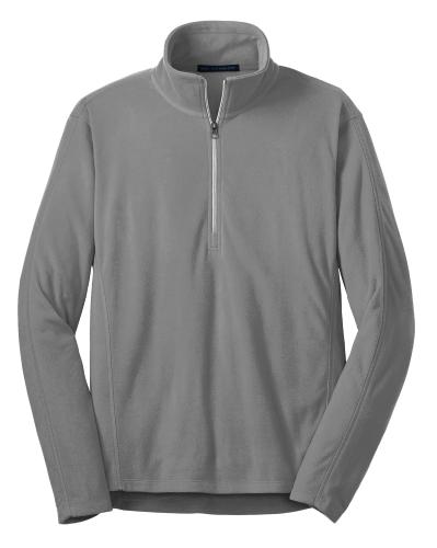 Microfleece 1/2-Zip Pullover.