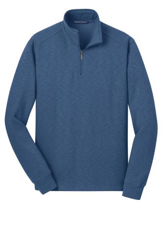 Slub Fleece 1/4-Zip Pullover
