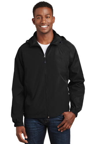 Hooded Raglan Jacket