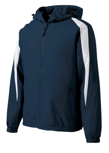 Fleece-Lined Colorblock Jacket