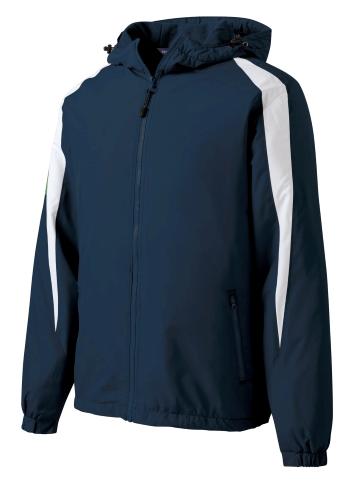 Fleece-Lined Colorblock Jacket