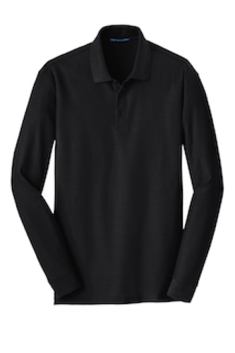 Long Sleeve Core Classic Pique Polo