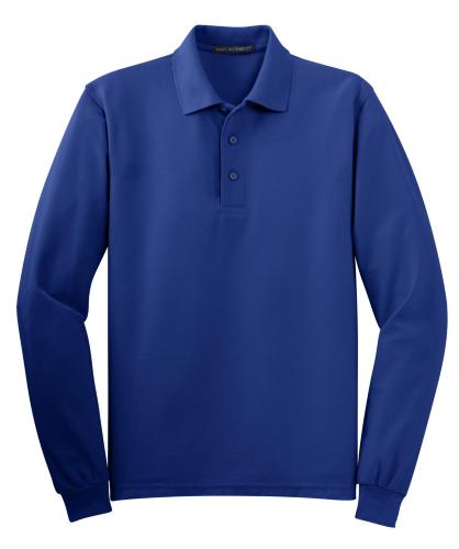 Long Sleeve Silk Touch Polo