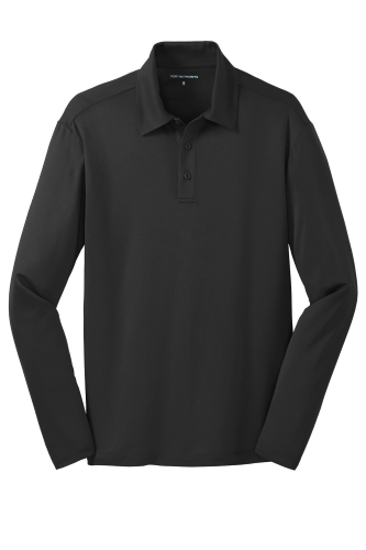 Silk Touch Performance Long Sleeve Polo