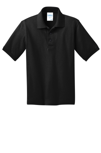 Port & Company Youth 5.5-Ounce Jersey Knit Polo