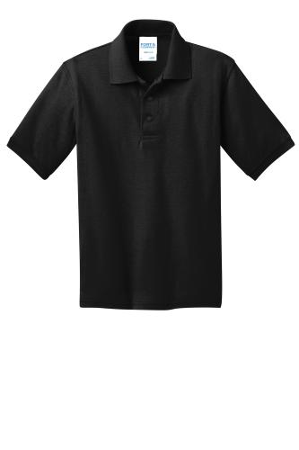 Port & Company Youth 5.5-Ounce Jersey Knit Polo