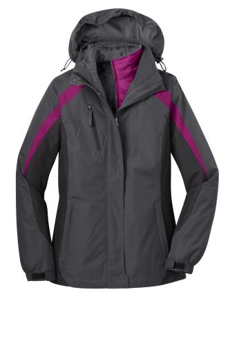 Ladies Colorblock 3-in-1 Jacket