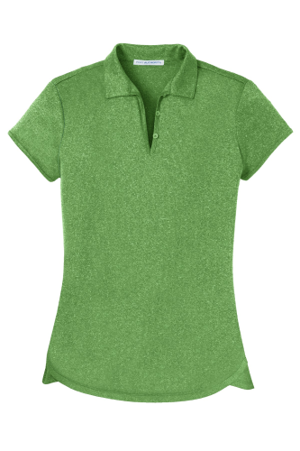 Ladies Trace Heather Polo