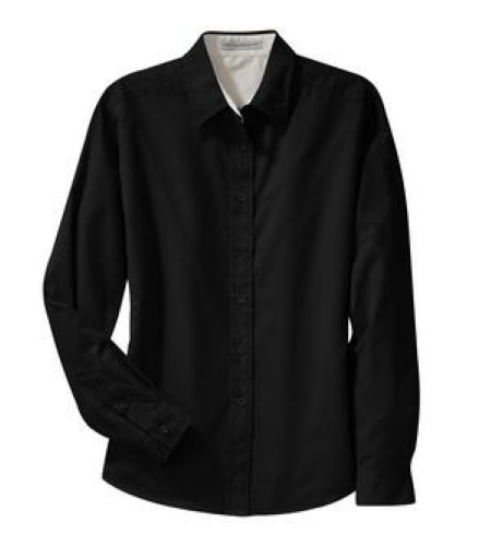 Ladies Long Sleeve Easy Care Shirt