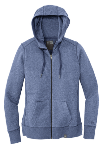Ladies French Terry Full-Zip Hoodie