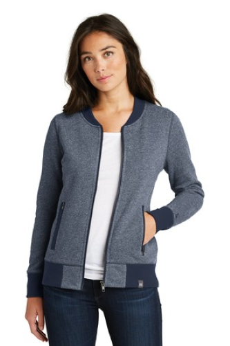 Ladies French Terry Baseball Full-Zip