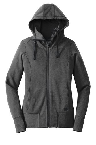 Ladies Tri-Blend Fleece Full-Zip Hoodie