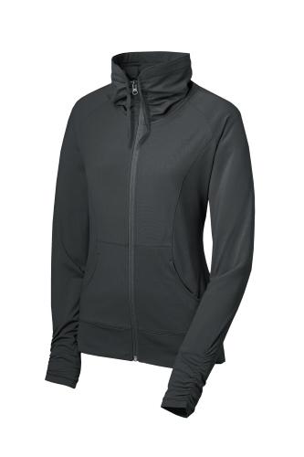 Ladies Sport-Wick Stretch Full-Zip Jacket