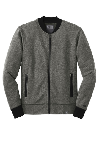 French Terry Baseball Full-Zip