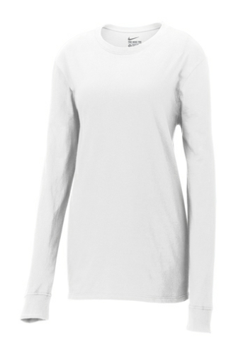 Ladies Core Cotton Long Sleeve Tee