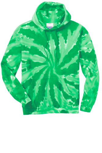 Port & Company Essential Tie-Dye Pullover Hooded Sweatshirt