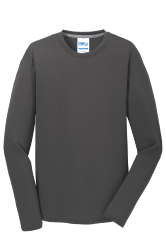Long Sleeve Essential Blended Performance Tee