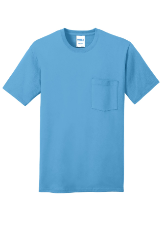 100% Cotton Pocket T-Shirt