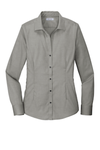 Ladies Pinpoint Oxford Non-Iron Shirt