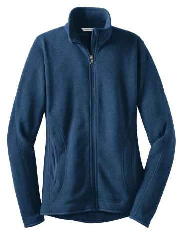 Red House Ladies Sweater Fleece Full-Zip Jacket